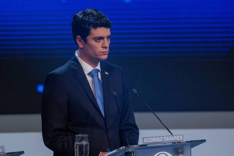O candidato derrotado ao governo do estado de São Paulo, Rodrigo Tavares
