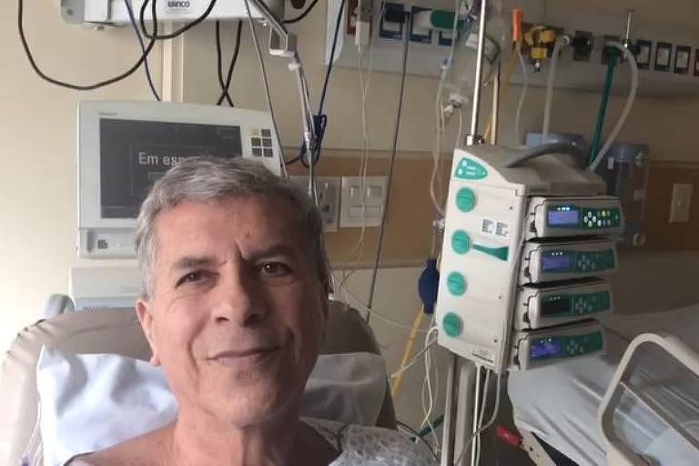 Kiko Pereira, do Roupa Nova, faz cirurgia no coração