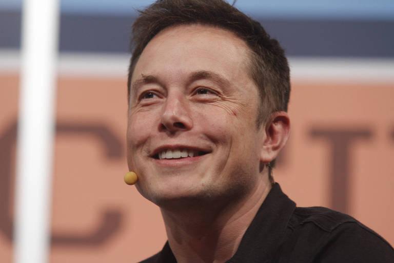 Elon Musk em apresentação no SXSW