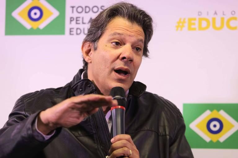 O movimento Todos pela Educação receberá o ex-prefeito Fernando Haddad, candidato a vice-presidente do PT que representa a chapa de Lula, durante debate da série Diálogos Educação
