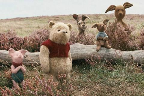 Cena de 'Christopher Robin: Um reencontro inesquecível', filme sobre o Ursinho Pooh (Foto: Divulgação) DIREITOS RESERVADOS. NÃO PUBLICAR SEM AUTORIZAÇÃO DO DETENTOR DOS DIREITOS AUTORAIS E DE IMAGEM