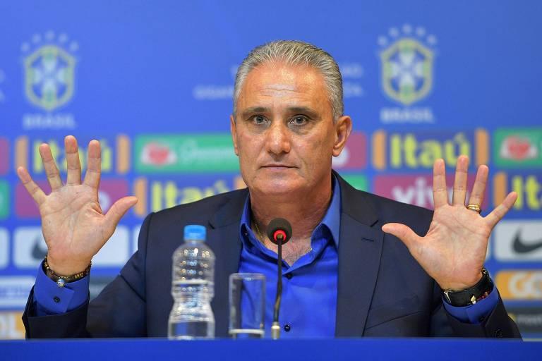 Tite segue no comando da seleção brasileira