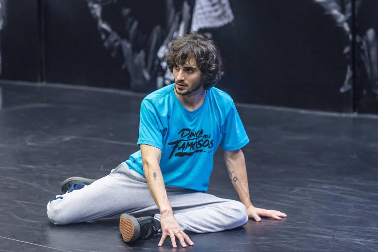 Fiuk durante ensaio do quadro 'Dança dos Famosos'