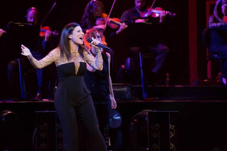 Cantora italiana Laura Pausini volta ao Brasil em turnê