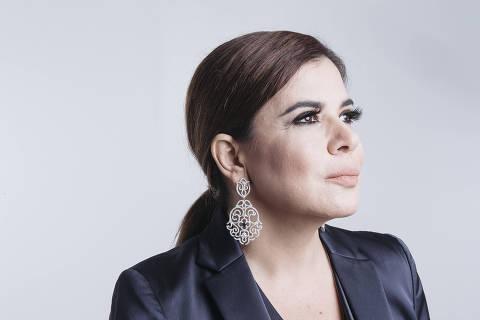 ******INTERNET OUT******* SÃO PAULO; SP; BRASIL; 26-02-2018; 16h: retratos da apresentadora e cantora Mara Maravilha. (Foto: Carine Wallauer/UOL).; ATENCAO: PROIBIDO PUBLICAR SEM AUTORIZACAO DO UOL