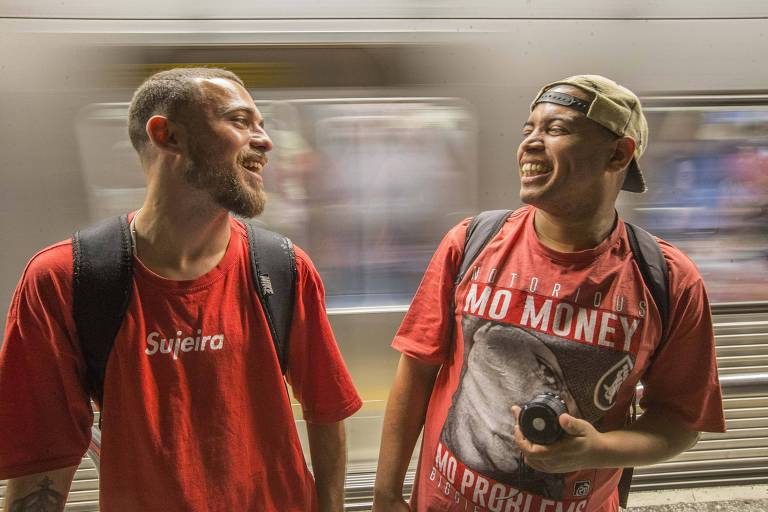 Rimas no Metrô