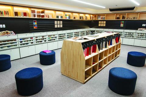 Biblioteca de materiais da Belas Artes