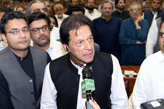 PAKISTAN-ISLAMABAD-NUEVO PRIMER MINISTRO
