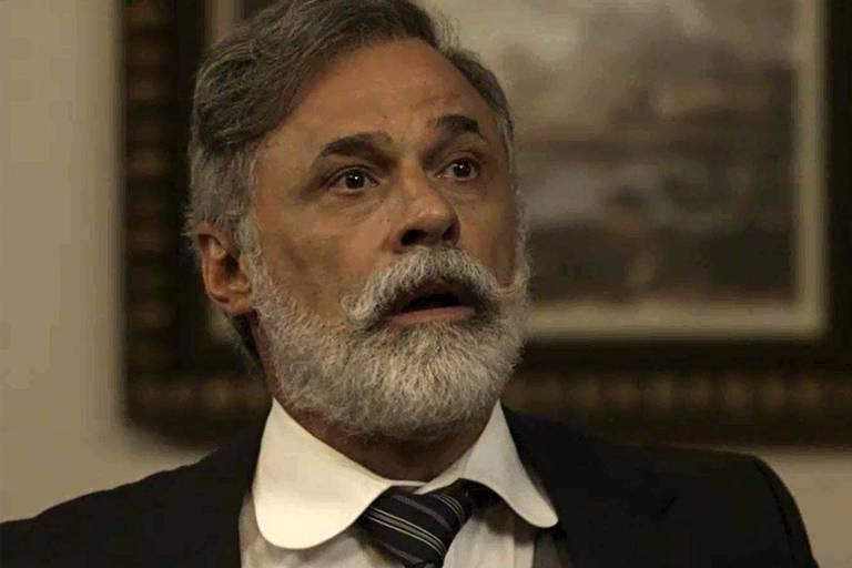 Tibúrcio (Oscar Magrini) vai se unir a Lady Margareth (Natália do Valle)