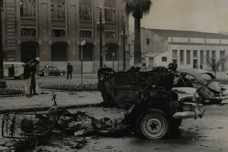 1968: Explosões no Dops e em fóruns