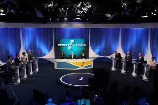 Presidential candidates attend televised debate in Osasco