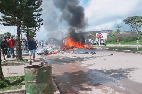 Refugiados venezuelanos são agredidos e expulsos de tendas em Roraima