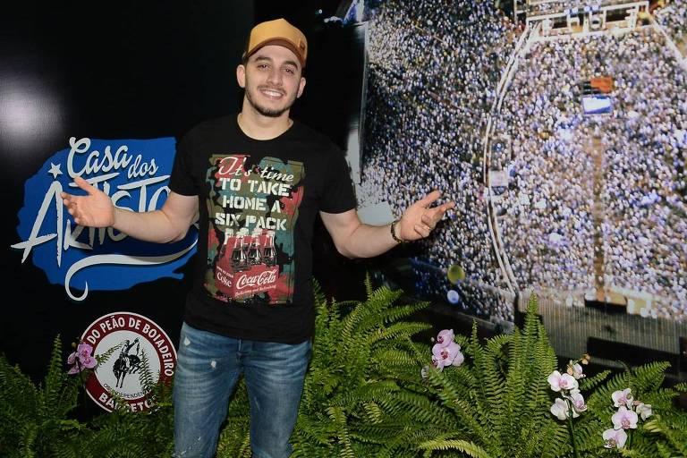 Jonas Esticado participou pela primeira vez da Festa do Peão de Barretos