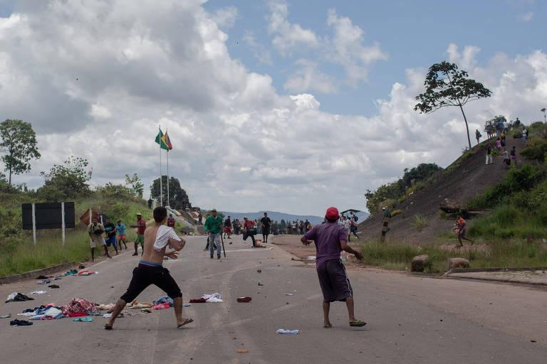Temos que defender o município, diz morador de cidade palco de confronto em RR