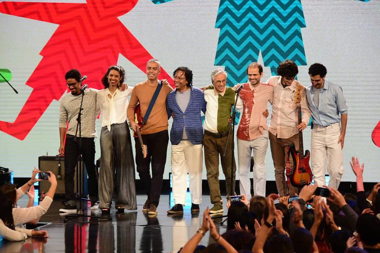 Show do Criança Esperança reuniu artistas como Caetano Veloso e Djavan