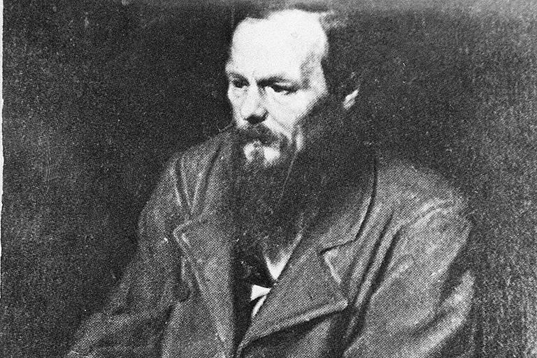 O escritor russo Fiodor Dostoiévski (1821-1881)