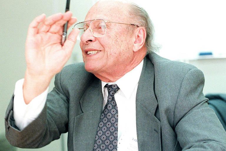 O empreiteiro Murillo Mendes, 71 anos, presidente do grupo Mendes Júnior