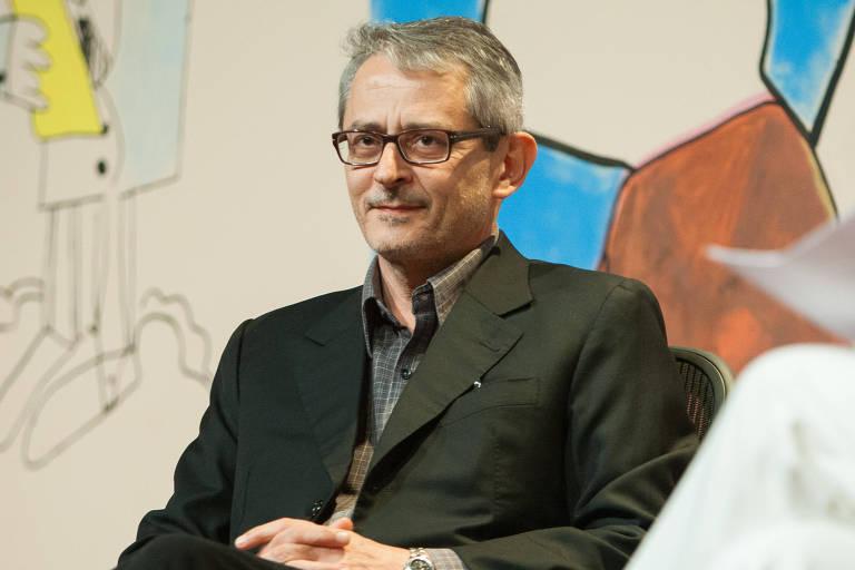 O jornalista, ensaísta e dramaturgo Otavio Frias Filho, diretor de Redação da Folha, participa de debate na Flip, em Parati