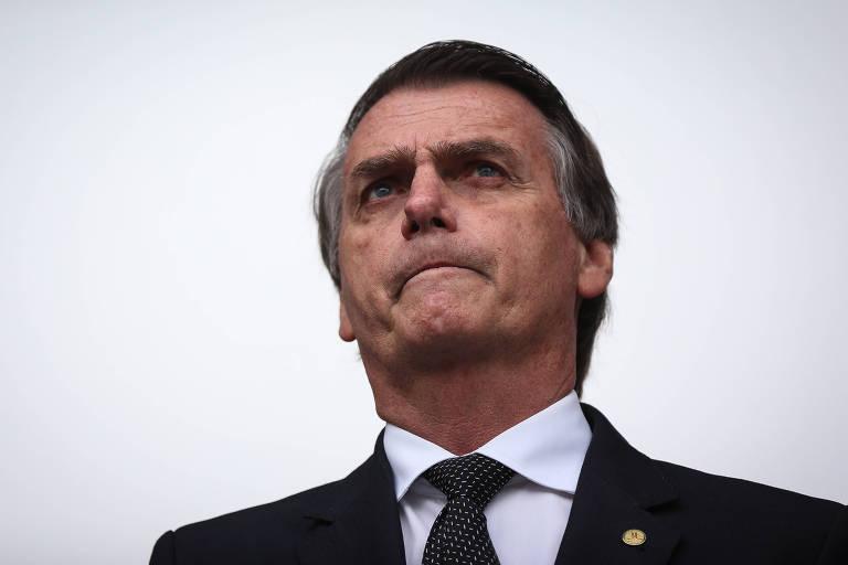 O presidenciável Jair Bolsonaro (PSL), que lidera a corrida eleitoral em cenário sem Lula