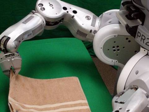 Quando ganhar agilidade, o ajudante da Rethink Robotics poderá fazer mais que dobrar roupas