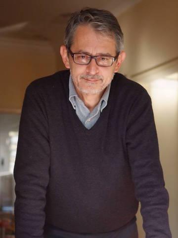 Otavio Frias Filho em casa, em 27 de julho de 2013, por ocasião do lançamento do livro