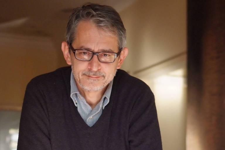 Retrato do jornalista Otavio Frias Filho diretor em julho de 2013