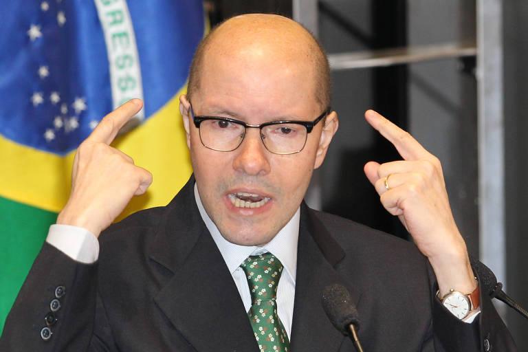 O ex-senador Demóstenes Torres, que teve o mandato cassado