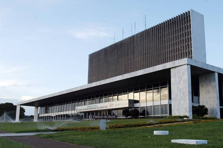 Palácio do Buriti, sede do governo do Distrito Federal