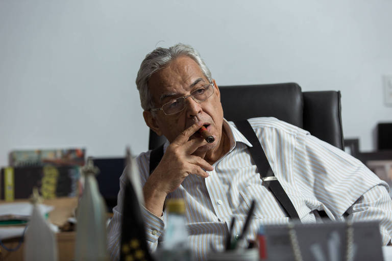 Ex-presidente do Vasco, Eurico Miranda luta contra tumor no cérebro