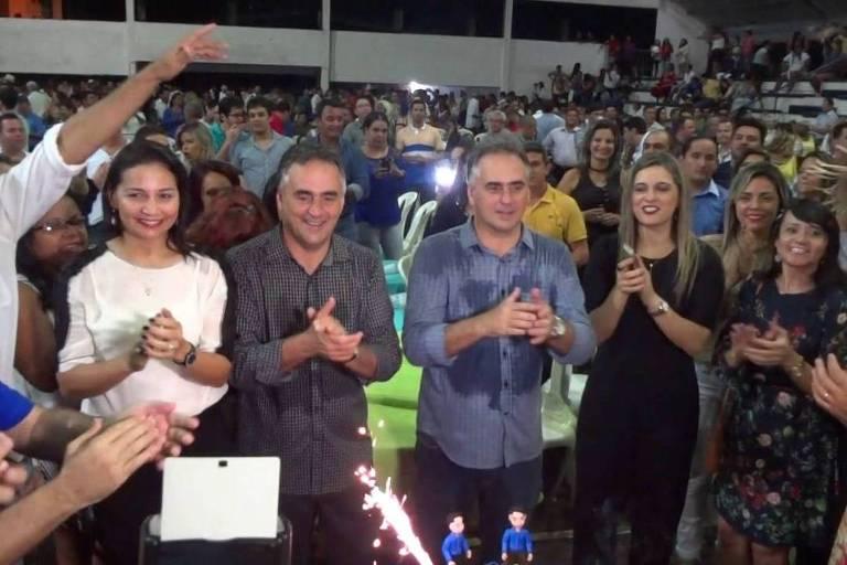 Lucélio Cartaxo é irmão gêmeo do prefeito de João Pessoa, Luciano Cartaxo