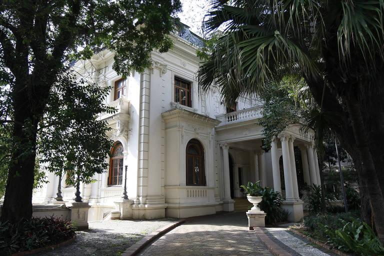 O antigo casarão do Nhonhô Magalhães que será parte dele será destinado ao Paço das Artes
