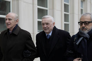 Former head of CBF Jose Maria Marin, defendant in the FIFA corruption trial, arrives at United States Federal Court in Brooklyn, New York