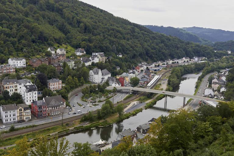 A cidade de Altena, na Alemanha, um dos locais onde o fenômeno foi registrado pelo estudo