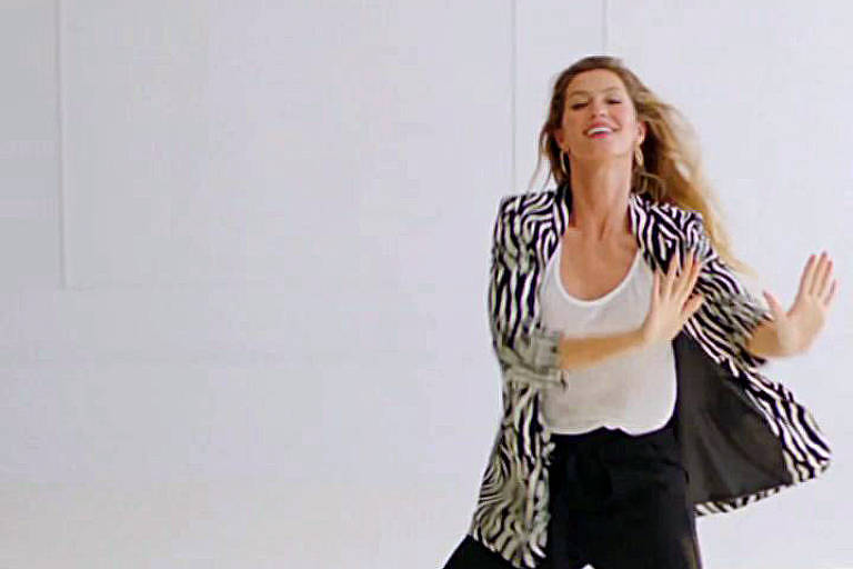 Gisele Bündchen em campanha para a marca Falabella