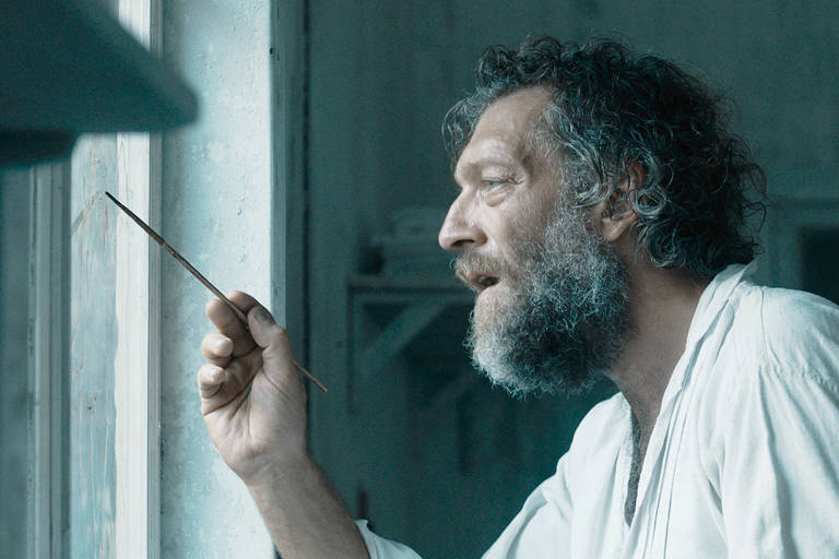 """O ator Vincent Cassel em cena de """"Gauguin - Viagem ao Taiti"""""""