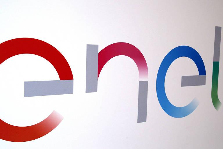 Logo da Enel; compra da Eletropaulo ocorreu em junho deste ano, após uma disputa entre a Enel e a espanhola Iberdrola