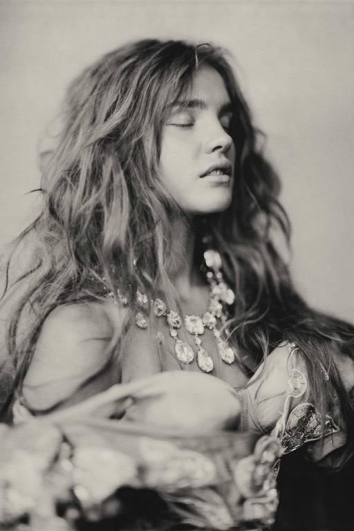 Retrato de Natalia Vodianova