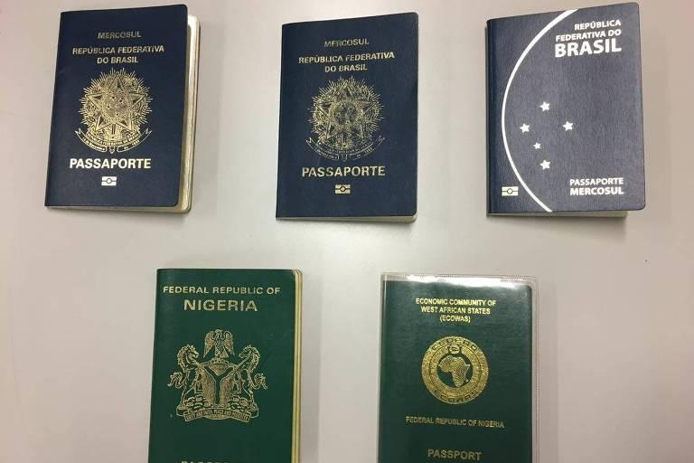 Nigeriano falsifica cartões