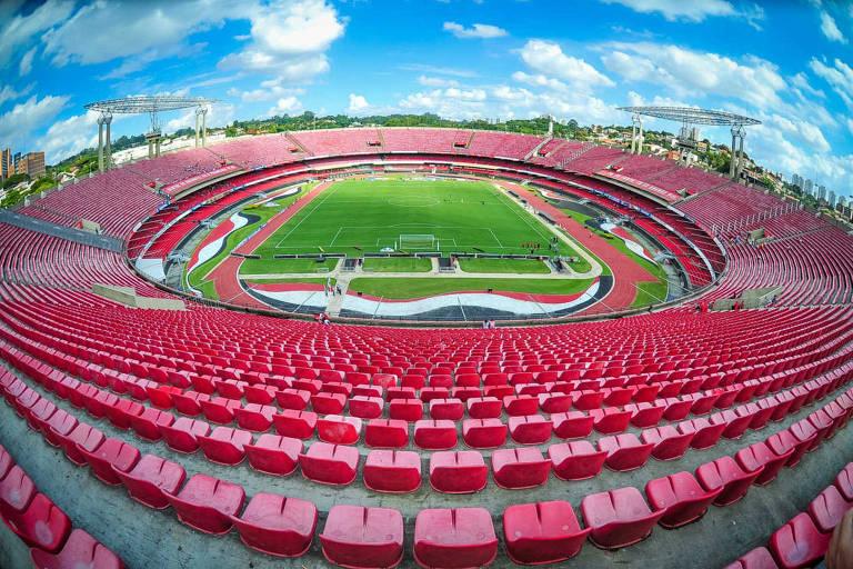 Os estádios do Campeonato Brasileiro