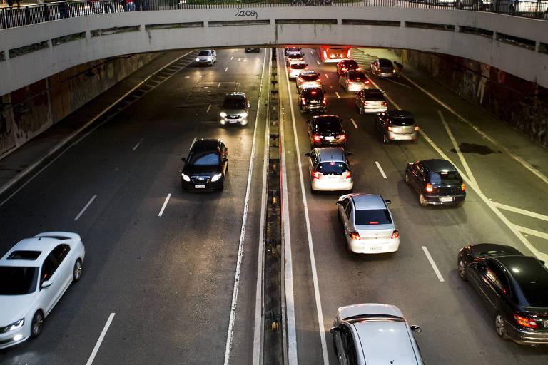 O túnel José Roberto Fanganiello Melhem, na região da avenida Paulista