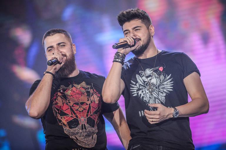 Zé Neto & Cristiano durante a 63º Festa do Peão de Boiadeiro 2018