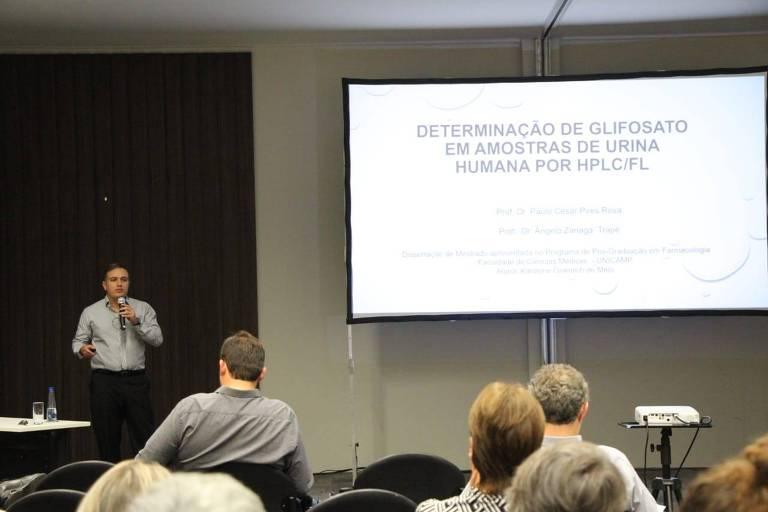 Professor Paulo César Pires Rosa, da Unicamp