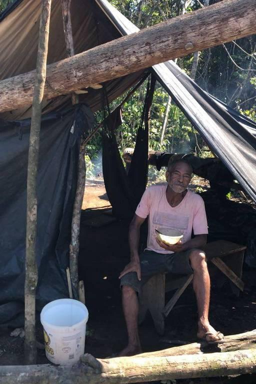 Garimpo em terra ianomâmi em Roraima