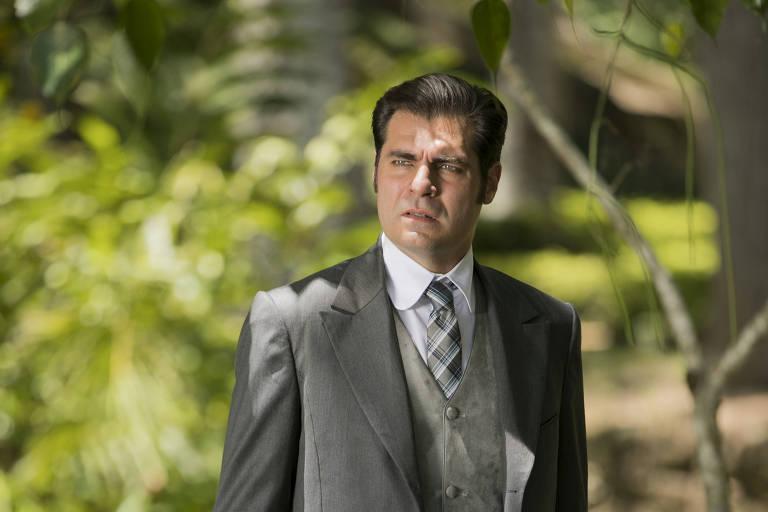 """Thiago Lacerda interpreta Darcy, na novela """"Orgulho e Paixão"""", da Globo"""