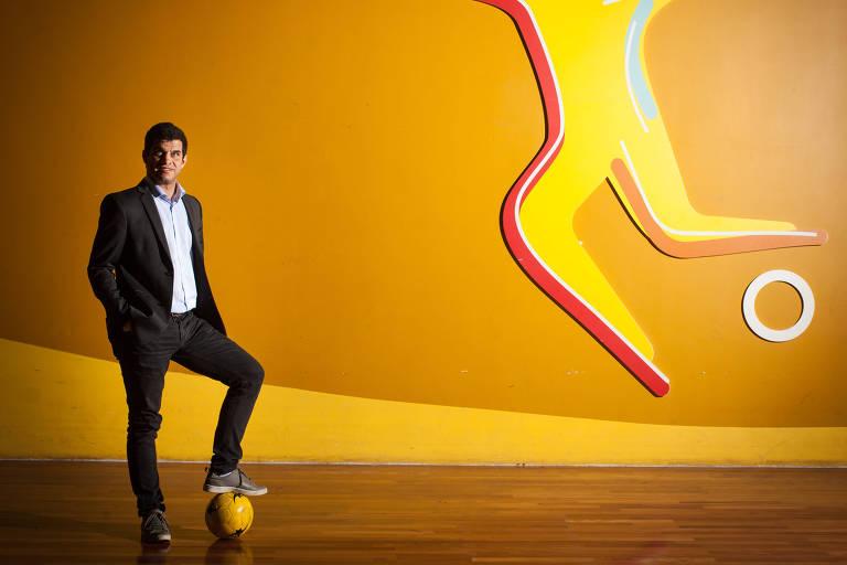 Presidente do CPB (Comitê Paralímpico Brasileiro) posa para foto