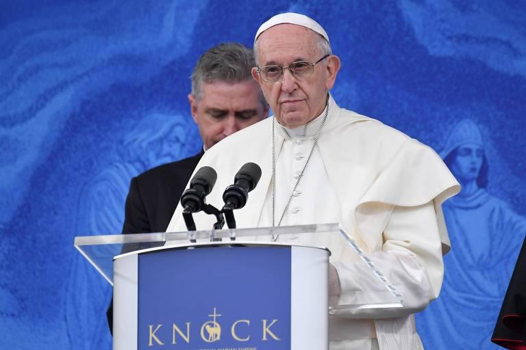 'Imploro o perdão do Senhor por estes pecados', diz papa na Irlanda