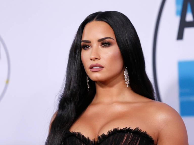 A cantora e atriz Demi Lovato