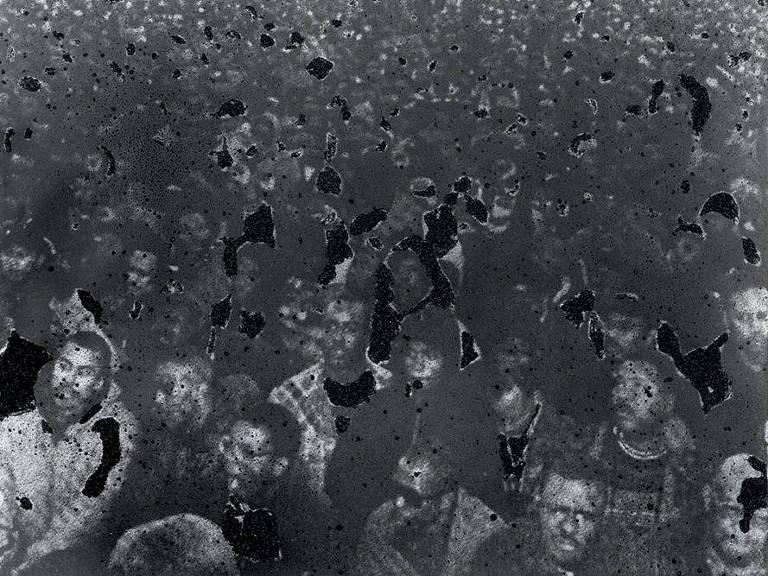 Glenn Ligon, obra: 'Untitled (Speech/Crowd) #2', 2000