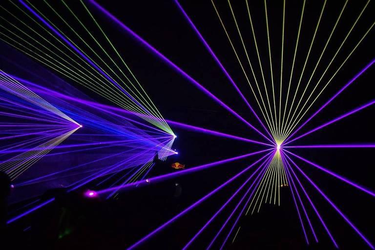 Feixes de luz de laser