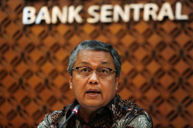 Presidente do Banco Central da Indonésia, Perry Warjiyo